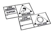 Low Hazard Placards